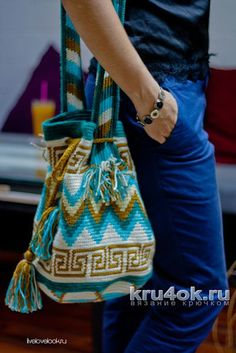 Frauke Carozzi Tapestry Crochet Patterns, Trends, Crochet Accessories, Knit Crochet, Crochet Bags, Hand Embroidery, Bucket Bag, Purses And Bags, Needlework