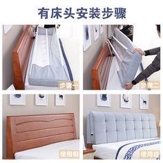 Bed Headboard Design, Headboard Cover, Bedroom Bed Design, Headboards For Beds, Home Decor Bedroom, Diy Home Decor, Furniture Makeover, Diy Furniture, Diy Bed Frame