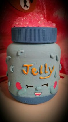 Upcycled a jar...wit