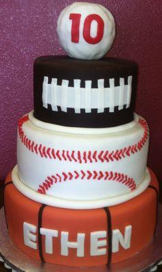 Sports Ball Cake