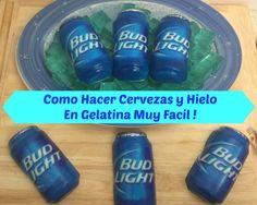 Cervezas y Hielos De Gelatina Muy Facil De Hacer!