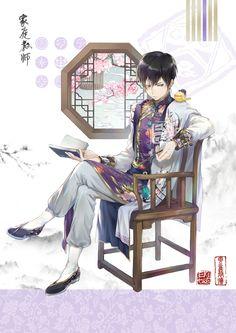 Hibari and Hibird Hitman Reborn, Reborn Katekyo Hitman, Manga Anime, Anime Guys, Anime Art, Reborn Anime, Animes Emo, Sakura Mochi, Gekkan Shoujo