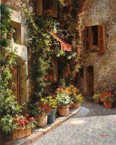 Galerie Zuger Dallas • Paul Guy Gantner | Mediterranean Garden