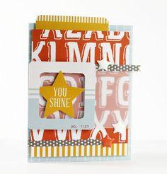 You Shine Card - Scrapbook.com