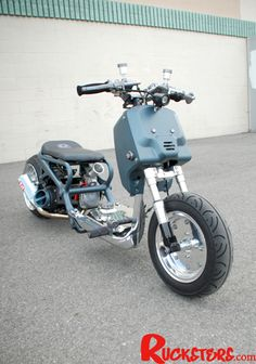 Brutal Master - Honda Ruckus by Rucksters Customs