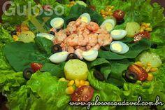 Salada de Verão » Receitas Saudáveis, Saladas » Guloso e Saudável