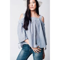 A new product you won't pass on  Grey Cold Shoulde...  http://www.aniubys.com/products/grey-cold-shoulder-shirt-in-stripe?utm_campaign=social_autopilot&utm_source=pin&utm_medium=pin