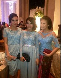 Blue #kebaya #inspiration