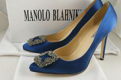 Having a Pair of Manolo Blahniks is heaven.
