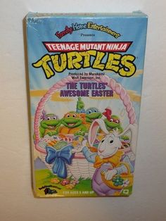 VHS Tape - The Turtles Awesome Easter Teenage Mutant Ninja Turtles Holiday TMNT #EasterHoliday