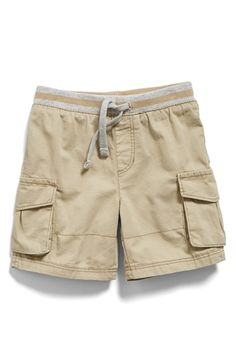 Free shipping and returns on Tucker + Tate Cotton Twill Cargo Shorts (Baby  Boys) 60f6c169a0
