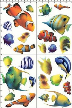 Lions of the sea david miller painting art animals fishes for Easy pet fish