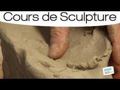 Les différents types de pâte à utiliser pour la sculpture - YouTube Creta, Deco, Sculpture Art, Pottery, Clay, Statue, Painting, Manualidades, Pottery Classes