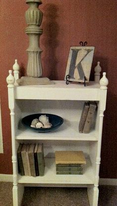 Obsessive and Creative: Dumpster Diving Again! makeover shelf