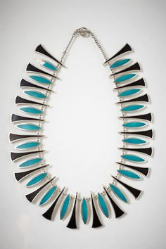 Necklace, designed by Poul Warmind, Denmark. 1950's.