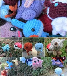 Etsy Wednesday: Amigurumi-Style Stuffed Toys  Please help support one of my family friends - her creations are really cool!