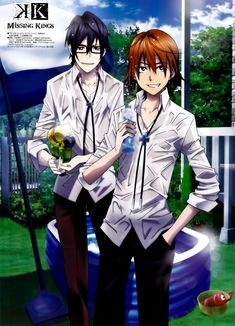Fushimi & Yata | K Project Missing Kings #anime