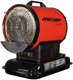 ProTemp PT-80-OFR Radiant Heating 80000 BTU for 2000 Square Feet , Black/Red Log Bedroom Sets, Red Appliances, Oil Heater, Kerosene Heater, Radiant Heaters, Compact Refrigerator, Radiant Floor, Best Oils, Steel Doors