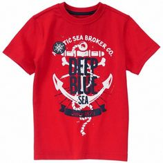 Camiseta Gymboree Deep Blue Sea