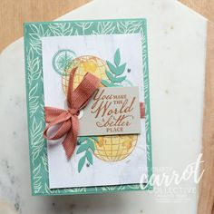 Jennifer Frost walked us through creating this beautiful card in our August Tutorial program. We love how she paired the Beautiful World bundle with the Forever Fern suite products! Do you like to mix your suites and bundles? Find Us On Facebook, Memorial Gifts, Beautiful World, Frost, The Good Place, Stampin Up, Finding Yourself, Invitations, Messages