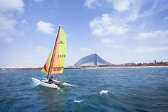Jumeirah Beach Hotel, Dubai - Sports Travel - Talise Fitness- Watersports - Sailing