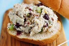 5 Healthy Sandwich Recipes, including my Sonoma Chicken Salad Sandwiches!