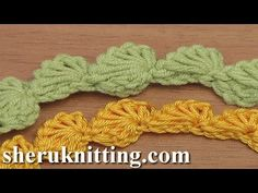 Crochet Shell Stitch Strings Tutorial 111
