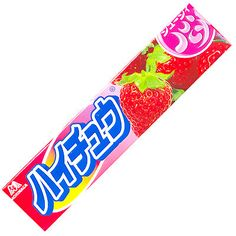 Hi Chew Japanese candy OMG the best ever in life.