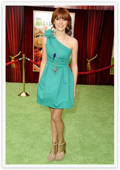 on the green carpet at the muppets premiere!!