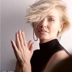 'I feel like where I am in my life right now, it really suits it': Lara Worthington (ne Bingle), 28, has delighted fans by appeared in a behind-the-scenes video of her shoot for InStyle Magazine