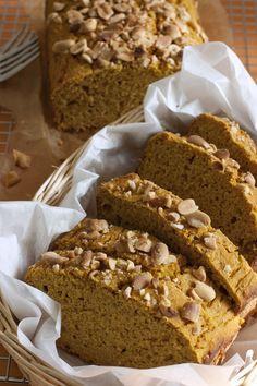 Peanut Butter Pumpkin Coffee Cake | FamilyFreshCooking.com