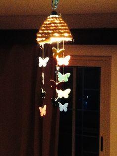 Butterfly Chandelier DIY Lampadario con Farfalle