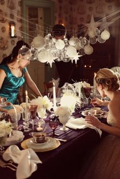 I want my next dinner party to look like this...