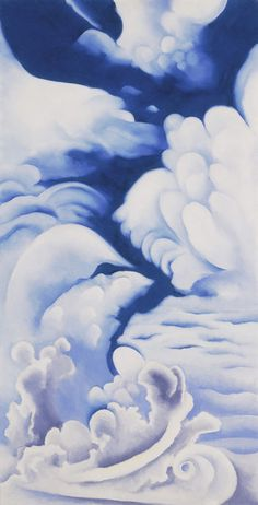 Georgia O'Keeffe is one of my favorite artists. I love her flower paintings but I don't feel like flower paintings are my style for my home, even though I love looking at them in museums.