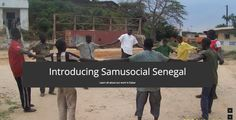 Presenting an NGO working with Street Children in Dakar