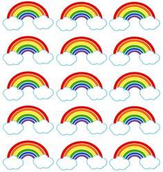 Hot Air Balloon Thank You Gift Tags - Digital Art - Party Favors Decoration .- Heißluftballon Danke Geschenkanhänger – Digital Art – Party Favors Decoration … Hot Air Balloon Thank You Gift Tags – Digital Art … - Rainbow Dash Party, Rainbow Dash Birthday, Colorful Birthday Party, Rainbow Parties, Rainbow Cupcakes, Rainbow Theme, Unicorn Birthday Parties, Rainbow Food, My Little Pony Party