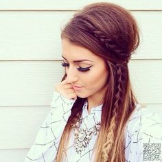 29 Chic Boho Hair #Styles Your Hair Wants Now ... → Hair #Hairstyles