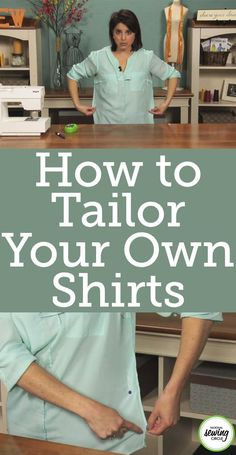 Hot to Tailor Your Own Shirts