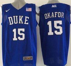 2c8505ec5447 Blue Devils  15 Jahlil Okafor Royal Blue Basketball Elite Stitched NCAA  Jersey