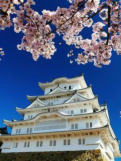 Himeji Castle, Hyogo, Japan | Noritoshi Wada 姫路城 Beautiful Islands, Beautiful World, Beautiful Places, Ancient Chinese Architecture, Japanese Architecture, Himeji Castle, All About Japan, Sea Of Japan, Japanese Castle