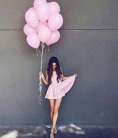 Pink Balloon Set | Blush Party Balloons | Pink Event Balloons | Blush Party Theme Balloons | Pink De Lifestyle Photography, Photography Poses, My Best Friend, Best Friends, Mood Boards, Urban, Amelie, Photo And Video, Aster