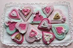 Heart cookies | Flickr - Photo Sharing!