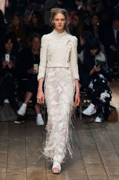 2 - The Cut - Alexander McQueen 2016 Spring RTW, great jacket. Transparent fabric.