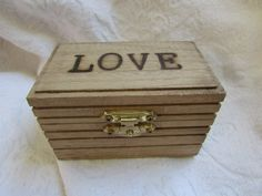 Check out this item in my Etsy shop https://www.etsy.com/listing/268515131/rustic-wedding-ring-box-gift-box-trinket