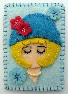 Menina Bonita em um Chapéu. / Pretty Girl in a Hat.
