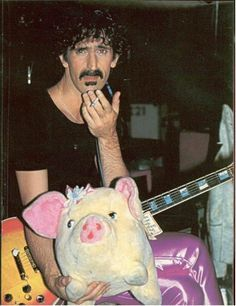 Zappa and Greggery Peccary Frank Vincent, Wellington New Zealand, Recorder Music, Frank Zappa, Milla Jovovich, Him Band, Record Producer, Golden Age, Rock N Roll