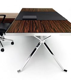 contemporary CEO office desk design by Manerba