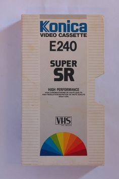 VHS Cassette, Free Market, Memories, Marketing, Retro, Cover, Books, Design, Memoirs