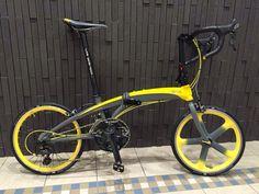 Areospoke and Tern folding bike Foldable Bicycle, Folding Bicycle, Tern Bike, Bike Ride Quotes, Folding Electric Bike, Bike Seat, Bike Frame, Bicycle Design, Custom Bikes