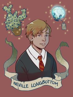 """After the battle of Hogwarts,Neville went to visit his parents to tell them about it. After he finished his mother, who normally spoke nonsense, smiled and said one word: """"Proud"""""""